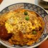 ソース風味卵とじカツ丼にハマる おざわ 静岡市葵区七間町