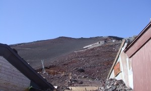 富士山日帰り登山 八合目?頂上
