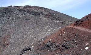 富士山日帰り登山 須走り下山