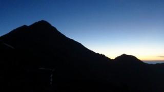 北岳山荘~中白峰~間ノ岳~農鳥岳~大門沢小屋