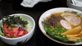 静岡ご当地ラーメンはもう「マグロ丼」で良いと思う
