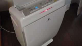加湿空気清浄機[パナソニックF-VXE60]を購入