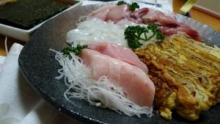 我が家の手巻き寿司