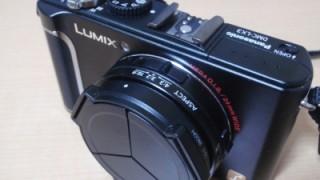 パナソニックLX3に、レンズキャップ(リコーLC-1)装着してみた