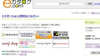 ブログパーツ公開と悩み eカタログ.com