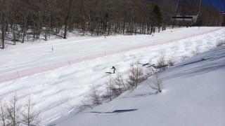 スキーコブ斜面 急斜面への対応