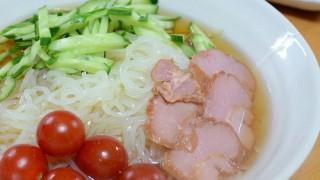 チュルチュルっと韓国冷麺