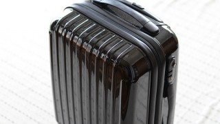 軽量スーツケースで楽チン小旅行