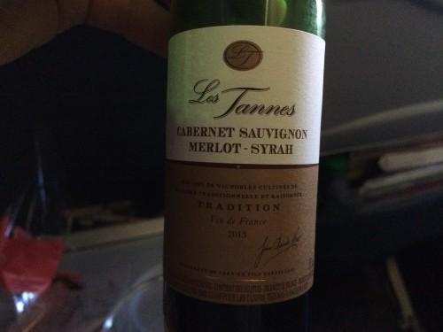 エアカナダ 機内食 赤ワイン