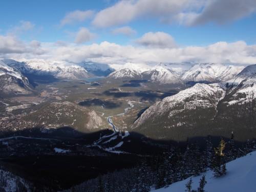 サルファー山からの景色