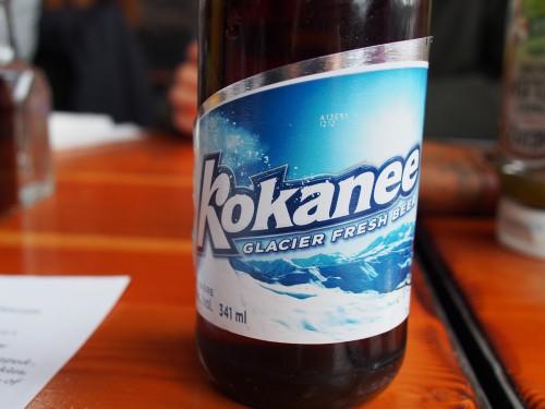 kokanee カナダビール