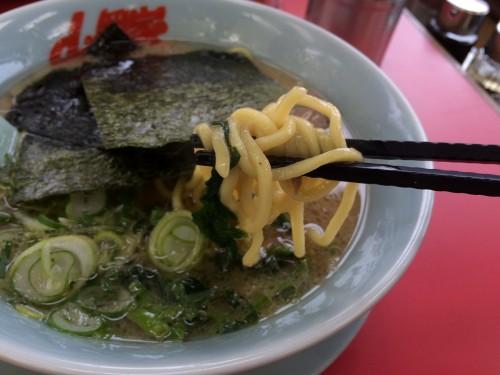 山岡家 太麺