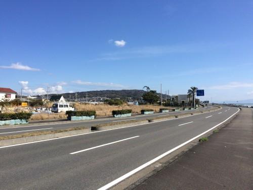 久能海岸からの富士山