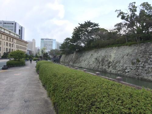 駿府城 お堀 ジョグ