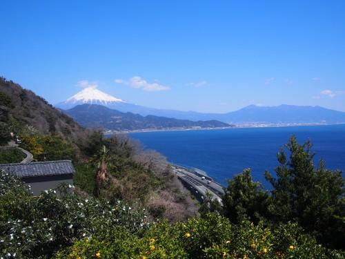 薩埵峠 富士山