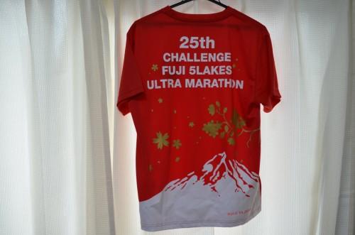 チャレンジ富士五湖25th Tシャツ
