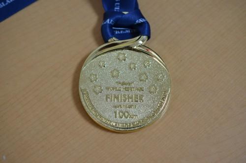 チャレンジ富士五湖25th メダル