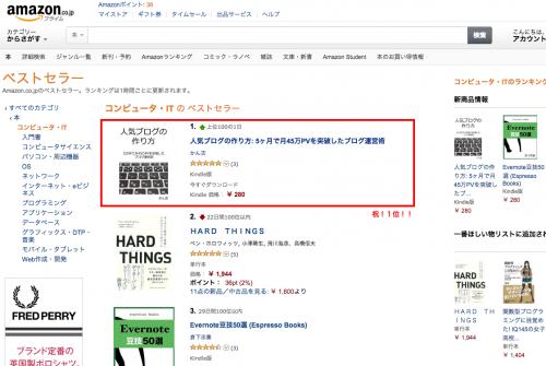 2014年4月29日 9時11分 Amazon.co.jp ベストセラー  コンピュータ・IT  ランキング