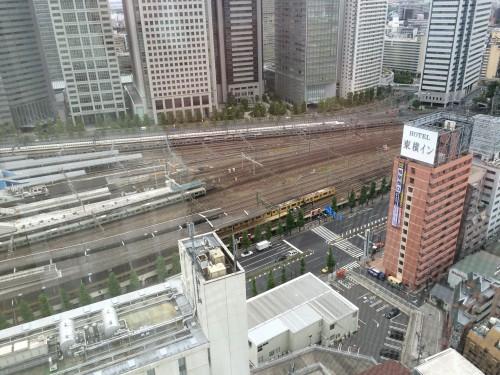 品川プリンス 電車