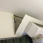 頭の上からエアコンが落ちてきた話 – 賃貸マンションの欠陥工事