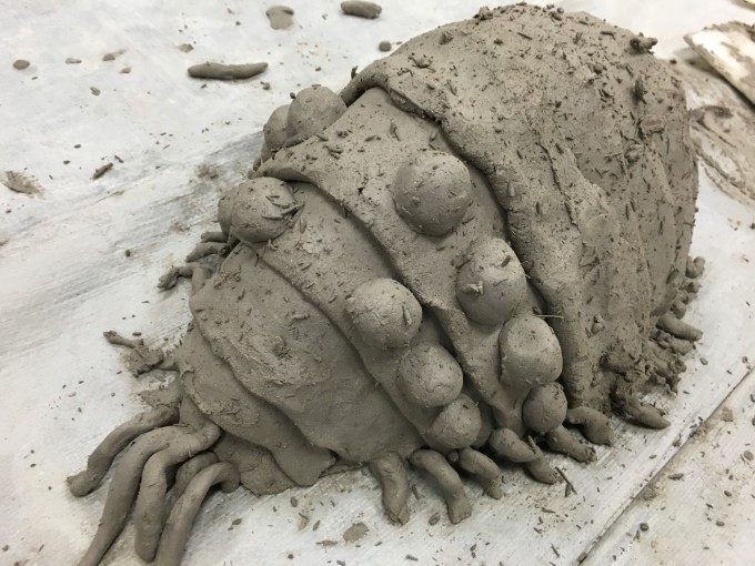 王蟲 粘土