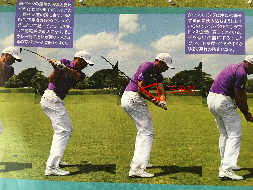 ゴルフ スイング 縦 振り