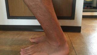 アキレス腱断裂11週間後 筋力が落ちていることを実感orz