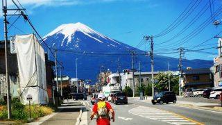 馬返し→五合目タイムトライアル 富士登山競走試走