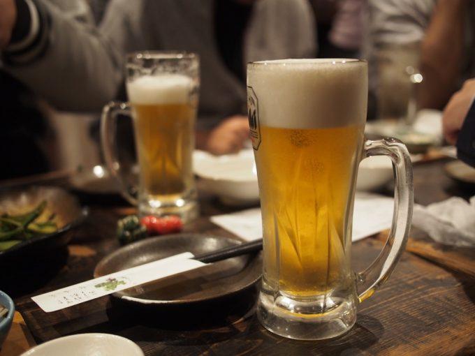美味しい生ビール