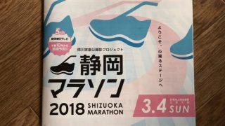 静岡マラソン2018 レース戦略