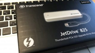 JetDrive825 & MacBook Air (13-inch, Mid 2013) でSSD容量を120→240GBへ