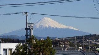 【週記】 富士山にきれいな冠雪 2018/10/20-10/26