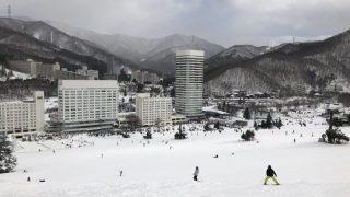 苗場から猿ヶ京温泉 年末年始スキー旅行
